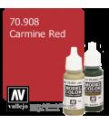Vallejo Model Color: Carmine Red (17ml)
