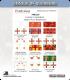 10mm League of Augsburg (Flags): James II, Foot Regiments 2