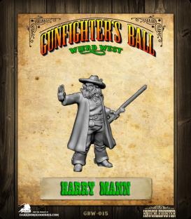 Gunfighter's Ball: Weird West - Harry Mann