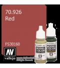 Vallejo Model Color: Red - 30160 (17ml)