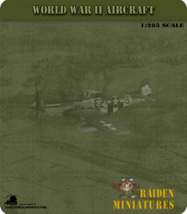 1:285 Scale: Grumman F4F-4 Wildcat