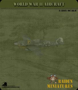 1:285 Scale: Messerschmitt Bf 109E-3