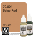 Vallejo Model Color: Beige Red (17ml)