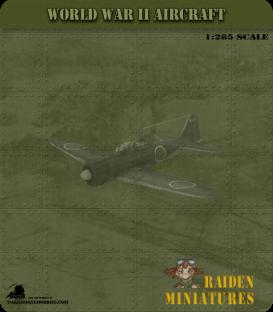1:285 Scale: Nakajima Ki-43 Hayabusa (Oscar)