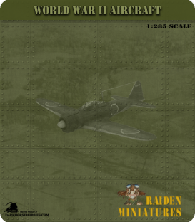 1:285 Scale: Kawasaki Ki-61 Hien (Tony)