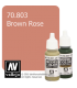 Vallejo Model Color: Brown Rose (17ml)