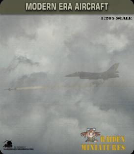 1:285 Scale: Dassault Mirage 5 (with drop tanks)