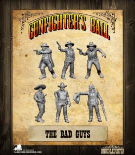 Gunfighter's Ball: The Bad Guys Faction Pack