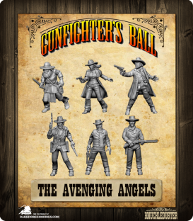 Gunfighter's Ball: The Avenging Angels Faction Pack
