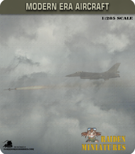1:285 Scale: Lockheed F-104A Starfighter (with tip tanks)