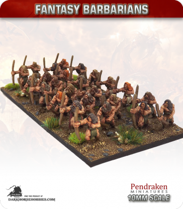 10mm Fantasy Barbarians: Assorted Archers