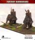 10mm Fantasy Barbarians: War Mammoths with Crew