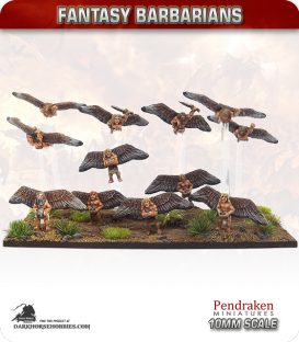 10mm Fantasy Barbarians: Icarusi