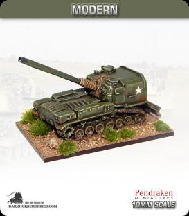 10mm Modern: M53 SPG 155mm Howitzer