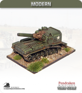 10mm Modern: M55 SPG 203mm Howitzer