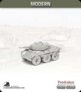 10mm Modern Vehicles: FV601 Saladin Armoured Car