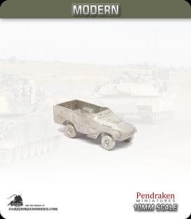 10mm Modern Vehicles: BTR-40 APC