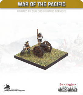 10mm War of the Pacific: Gatling Gun with Crew