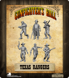 Gunfighter's Ball: Texas Rangers Faction Pack