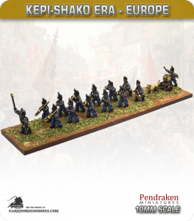 10mm Europe (19th Century): Marching Band
