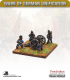 10mm Europe (1860's): Bavarian - Krupp C61 6pdr RBL with Foot Crew