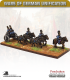 10mm Europe (1860's): Bavarian - Limber with Team / Out-Riders