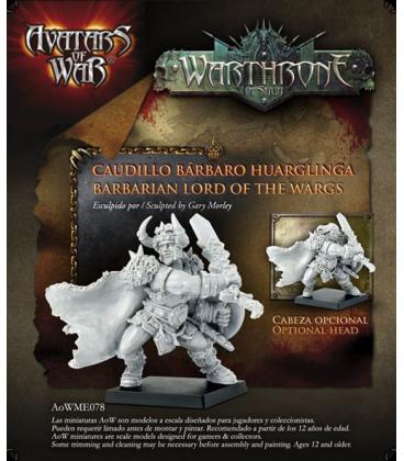 Avatars of War: Warthrone Barbarian Lord of the Wargs