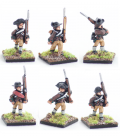 10mm American Revolution: Early continentals, march attack