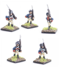 10mm American Revolution: Continental, coats and caps, marching
