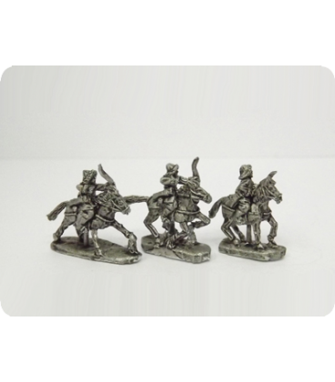 10mm Mongols: Light Cavalry with bow