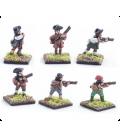 10mm American Revolution: Militia, firing line