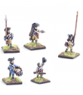 10mm American Revolution: Continental command, coats, marching