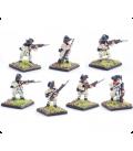 10mm American Revolution: Continental, hunting shirts, firing line