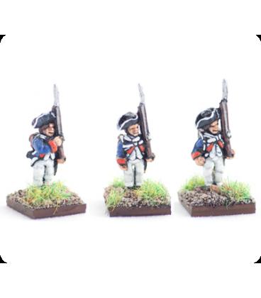 10mm American Revolution: Continental 1779 regulation uniform, standing