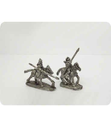 10mm Mongols: Medium Cavalry with spear and bow