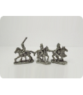10mm Mongols: Genghis Khan, Subedai & Jebei