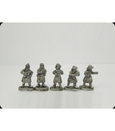 10mm Mongols: Civilians/Villagers