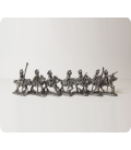10mm American Revolution: American Dragoons in French helmets