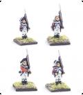 10mm American Revolution: British Line 1768 warrant, standing