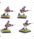 10mm American Revolution: British Line 1768 warrant, charging
