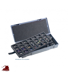 Chessex Figure Storage Box: 25mm Large (56 figure)