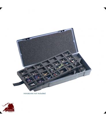 Chessex Figure Storage Box: 25mm Large (56 figure)