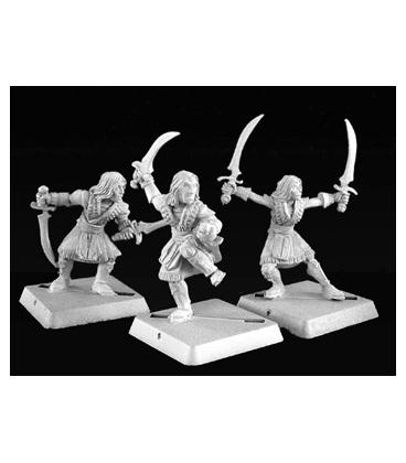 Warlord: Nefsokar - Khamsin Dervish, Nefsokar Adept (9-pack) (unpainted)