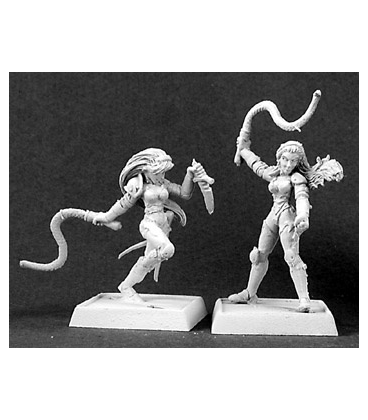 Warlord: Overlords - Daughters of the Whip, Overlords Adept (9-pack) (unpainted)