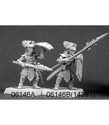 Warlord: Overlords - Onyx Phalanx, Overlords Adept (8-pack) (unpainted)