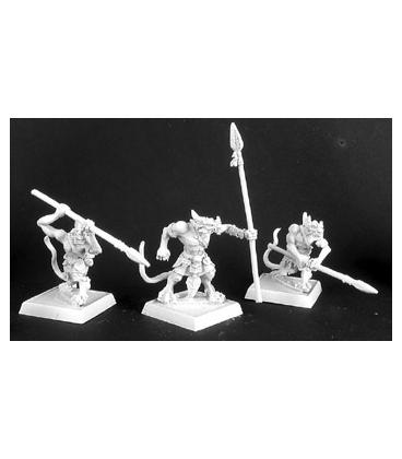Warlord: Reptus - Clutchling Spearmen (9-pack) (unpainted)