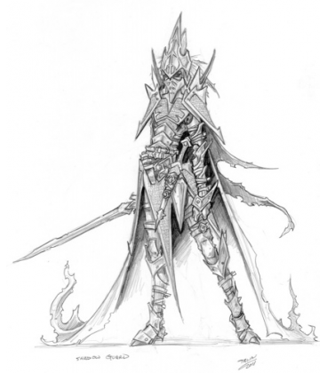 Warlord: Darkreach - Shadowguard, Darkreach House Guard (concept art)