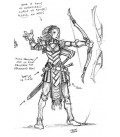 Warlord: Blade Sisters - Bow Sisters (9-pack) (concept art)