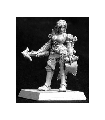 Warlord: Blade Sisters - Kyla, Bounty Hunter (unpainted)