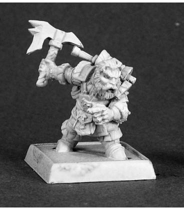 Warlord: Dwarves - Durin, Dwarven Pathfinder Sergeant